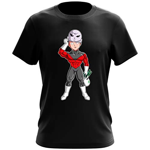T-shirt homme Le secret du plus grand guerrier de l'univers – Parodie One-Punch Man, Dragon Ball