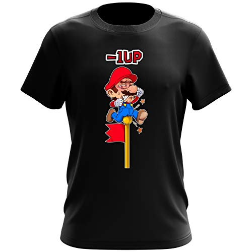 T-shirt homme – 1 UP !! – Parodie Super Mario