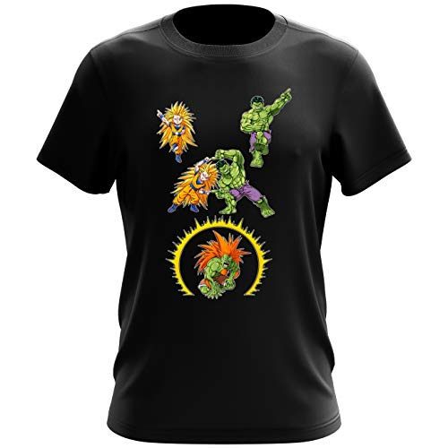 T-shirt homme Fusion bestiale !! – Parodie Street Fighter