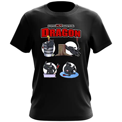 T-shirt homme How to NOT train your Dragon – Parodie Dragons