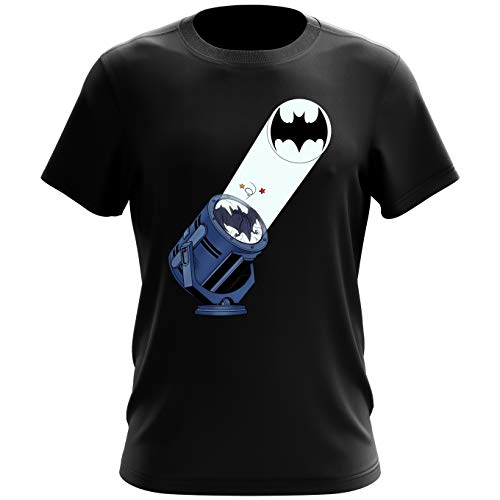 T-shirt homme Bat Projecteur !! – Parodie Batman